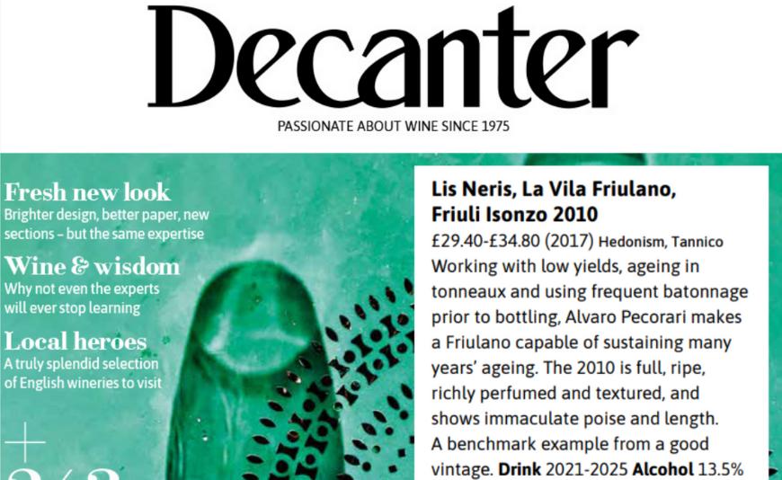 La Vila 2010 su Decanter